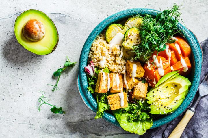 Przykładowe danie należące do diety roślinnej