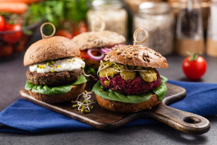 Wegańskie burgery